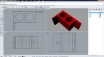 /theme/desk audio dock/3d render model rhino